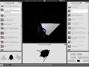 Apollo 11 lunar landing video screenshot