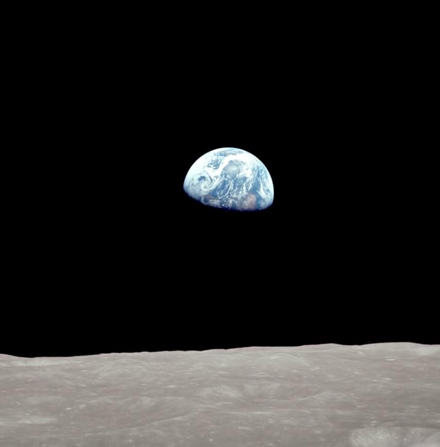 nasa earthrise 1968 - photo #15