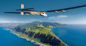 Solar Impulse composite photo over Hawaii
