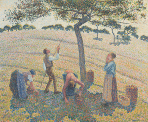 Pissaro Apple Harvest