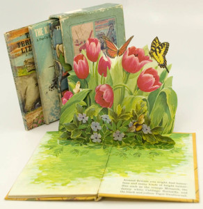Old pop-up book