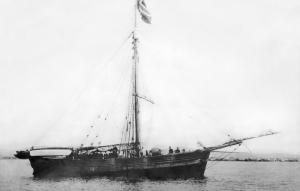 Amundsens ship Gjoa