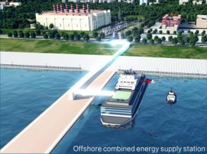 China Floating NPP moored at shore installation