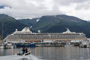 Crystal Serenity at Seward Alaska