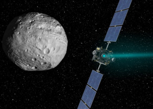 NASA_Dawn_spacecraft_near_Ceres