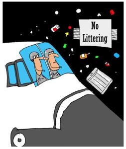 No littering in orbit