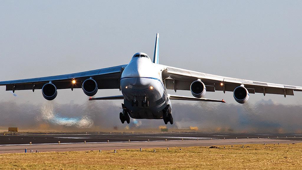 Status of Ukraine's Giant Transport Aircraft: Antonov An ...