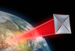Breakthrough Starshot propelled by lasers