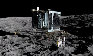 Philae as it was intended to land.