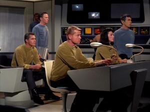 Star Trek pilot - The Cage - crew