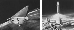 1963 Aeronutronic Mars lander concept