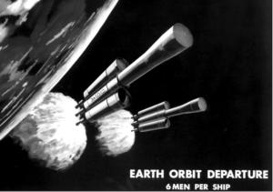 Marshall 1969 NERVA mars mission