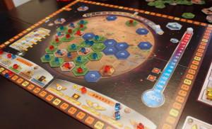 Terraforming Mars gameboard