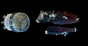 3 satellite SWARM