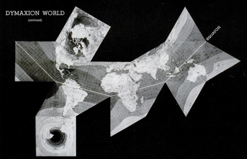 Dymaxion the lyncean group of san diego dymaxion map 1943 gumiabroncs Choice Image