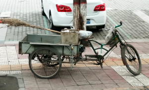 Streetsweepers cargo bike