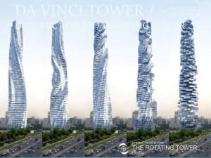 Da Vinci rotating-tower Dubai