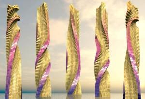 Dynamic skyscraper concept